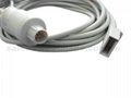 Nihon Kohden Compatible -Utah IBP Adapter cable