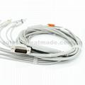 惠普M3703C心電圖機電纜及導聯線 (4.0 香蕉插 ) 5