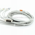 HP M3703C EKG cable with leadwires (4.0 Banana ) 5