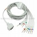 Fukuda  EKG cable with leadwires (4.0 Banana ) 2