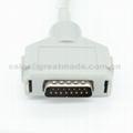 Fukuda  EKG cable with leadwires (4.0 Banana ) 4