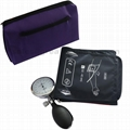Large Adult matual aneroid sphygmomanometer blood pressure cuff KITS