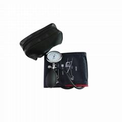Adult Long matual aneroid sphygmomanometer blood pressure cuff KITS