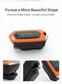 爆款 指夹式脉搏血氧仪 内置锂电池OLED屏幕心率仪