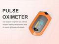 Finger clip pulse oximeter, built-in lithium batteryOLEDscreen heart rate meter