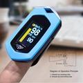 爆款 指夹式脉搏血氧仪 内置锂电池OLED屏幕心率仪 6