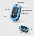 爆款 指夹式脉搏血氧仪 内置锂电池OLED屏幕心率仪 8