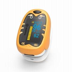 新款家用手指脈搏血氧儀 OLED屏幕血氧飽和度測心率儀