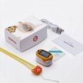 新款家用手指脉搏血氧仪 OLED屏幕血氧饱和度测心率仪