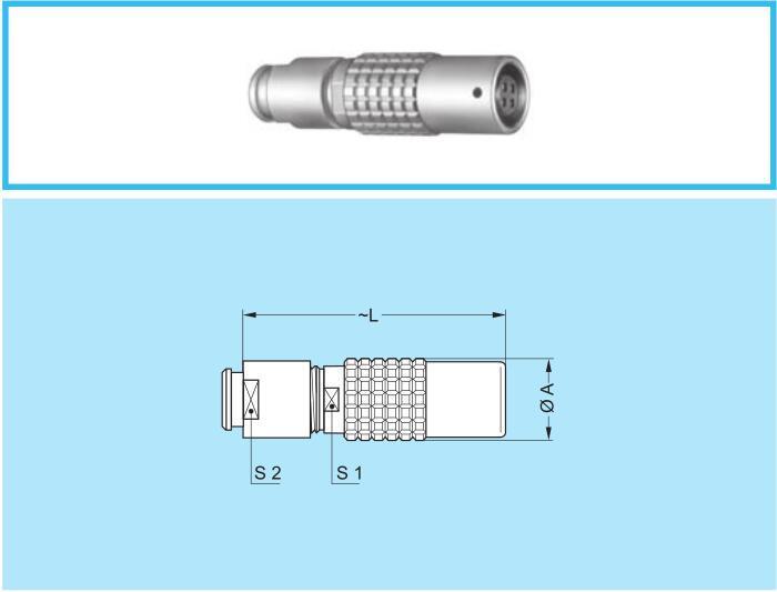 PHG 0B 1B 2B 3B連接器空中浮動對接式推拉自鎖航空插頭 10