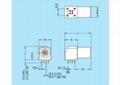 Compatible EXG EPG 0B1B push-pull self-locking panel angled PCB board socket 6