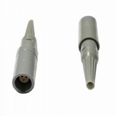 塑料連接器PRG 2-10針,14針1p 單定位帶彎管緩解的自由插座