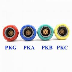 醫用連接器PKG PKA PKB PKC 2-10針 14 針 1P雙定位0 40 60 80度插座