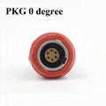 医用连接器PKG PKA PKB PKC 2-10针 14 针 1P双定位0 40 60 80度插座
