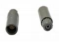 塑料连接器PRG 1-10针,14针1P单定位自由插座