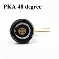 1P医用连接器PKG PKA PKB PKC 2-10针14针固定插座,带弯头90度触点PCB两键