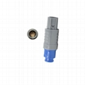 塑料圆形连接器CAB 2-8针 10,12,16,18,19针2P直插头带弯曲缓解