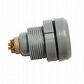 塑料连接器CKB 2-8针10,12,16,18针2P推拉圆形固定插座