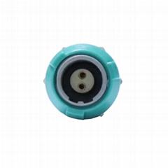 1P醫用連接器雙定位PKG 2 3 5 6 7 8針 40度固定插座