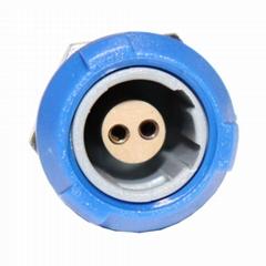 醫用連接器1P雙定位PKG 2 3 5 6 7 8針60度推拉圓形固定插座