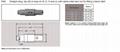 塑料连接器1P PAG 2-8pin双定位40度推拉圆形直式插头,带弯管缓解