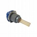 塑料连接器PKG 14针固定插