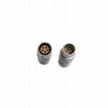 FGG PHG 2B系列305推拉自锁金属直插头/自由插座连接器