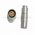 FGG PHG 2B系列303推拉自锁金属直插头/自由插座连接器