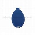 500ml reusable infusion pressure bag with pressure meter (white) mesh surface