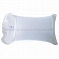 输血输液加压袋500ml重复使用输液加压袋(白色带显示器)网面医用