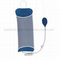 输血输液加压袋1000ml重复使用输液加压袋增压袋(蓝色)网面医用