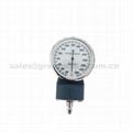 输血输液加压袋1000ml重复使用输液加压袋带压力表(蓝色)网面