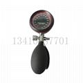 血压计血压监测配件 手势式压力显示表300mmhg加黑色PVC压力球 2