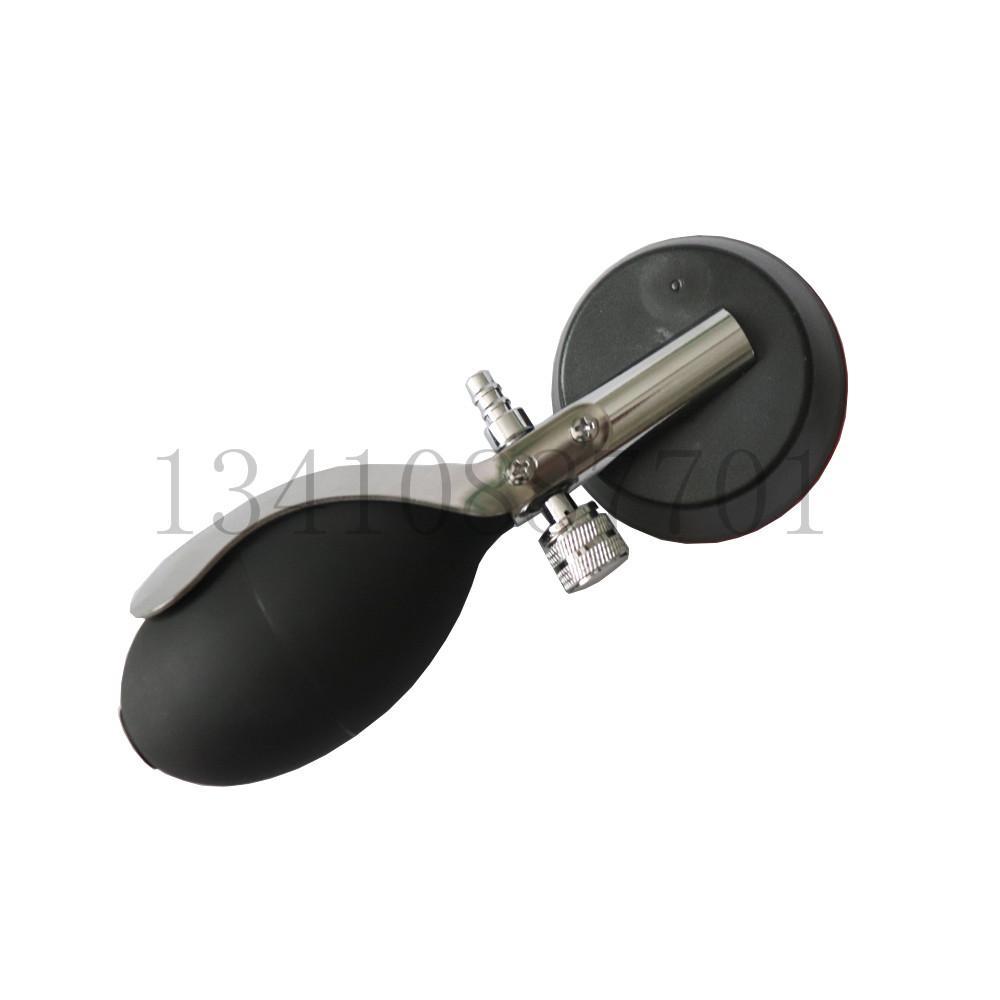 血压计血压监测配件 手势式压力显示表300mmhg加黑色PVC压力球 3