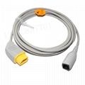 Nihon Kohden Compatible -Appott IBP Adapter cable