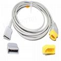 兼容Nihon Kohden 尤它IBP適配器電纜 3