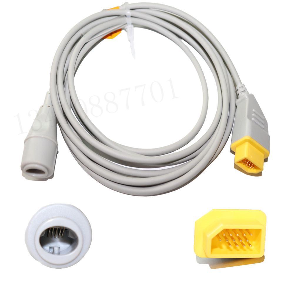 兼容Nihon Kohden愛德華IBP適配器電纜 3