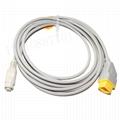 兼容Nihon kohden  ibp 電纜與飛利浦變頻器適配器 1
