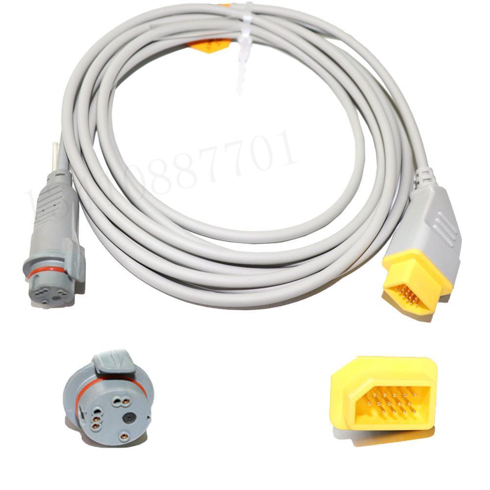 兼容Nihon Kohden BD IBP適配器電纜 3