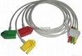 德恩歐美達3導歐標夾式導聯線