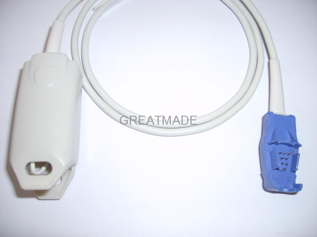 Datex-Ohmeda Oxytip+ OXY-F-UN Adult finger clip sensor