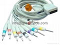 ShangHai Kohden EKG cable with leadwires