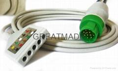 美能DIN式五導電纜