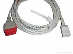 Marquette -Utah Transducer IBP Cable