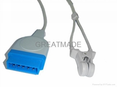 GE Datex-Ohmeda  OXY-E4-GE Adult finger clip Spo2  sensor