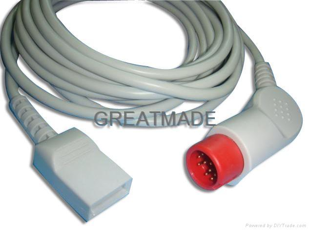HP -Utah Transducer IBP Cable  1