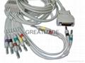 摩托拉心电图机电缆及导联线 (
