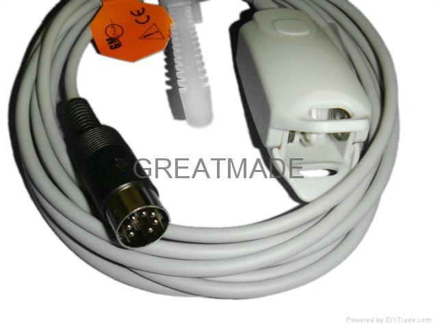 Spo2 Adult finger clip sensor