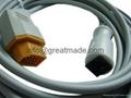 Nihon Kohden-Abbott New IBP Cable