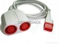 Spacelab Trulink Dual pressure cable